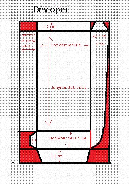 Conseils des bricoleurs cherche le developp d 39 un noquet for Dimension des tuiles