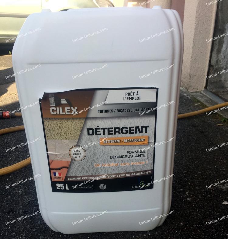 détergeant nettoyage toiture