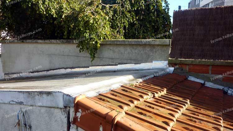 forum toitures probl me infiltration d 39 eau fa tage d 39 abri de jardin. Black Bedroom Furniture Sets. Home Design Ideas