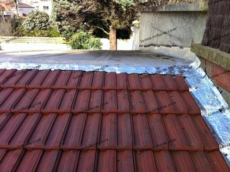 Forum toitures probl me infiltration d 39 eau fa tage d Infiltration toiture