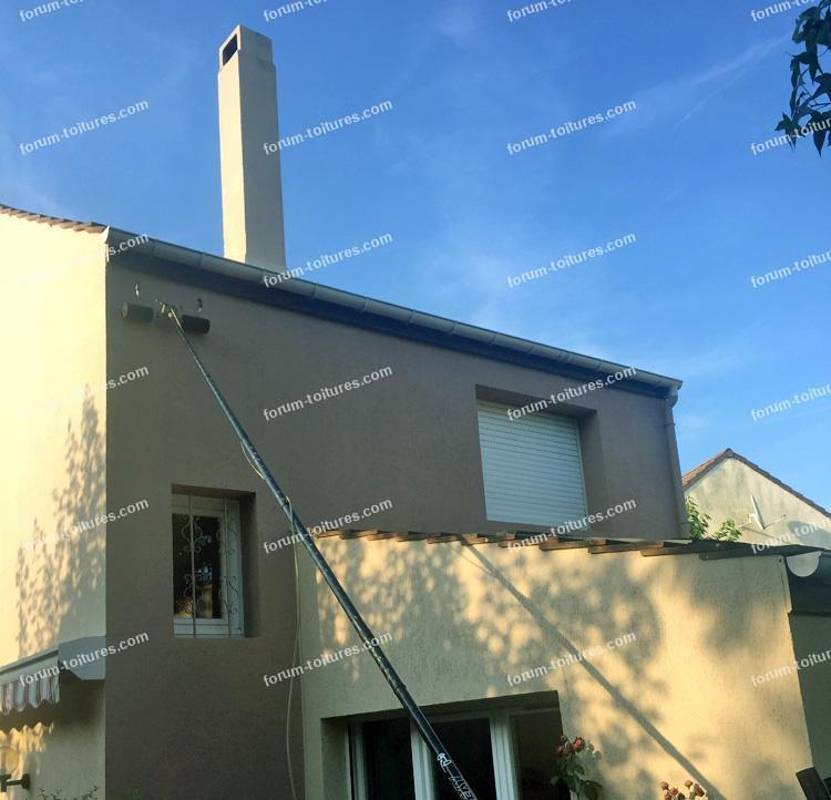 nettoyage basse pression sur une toiture tuiles b ton question peinture toiture. Black Bedroom Furniture Sets. Home Design Ideas