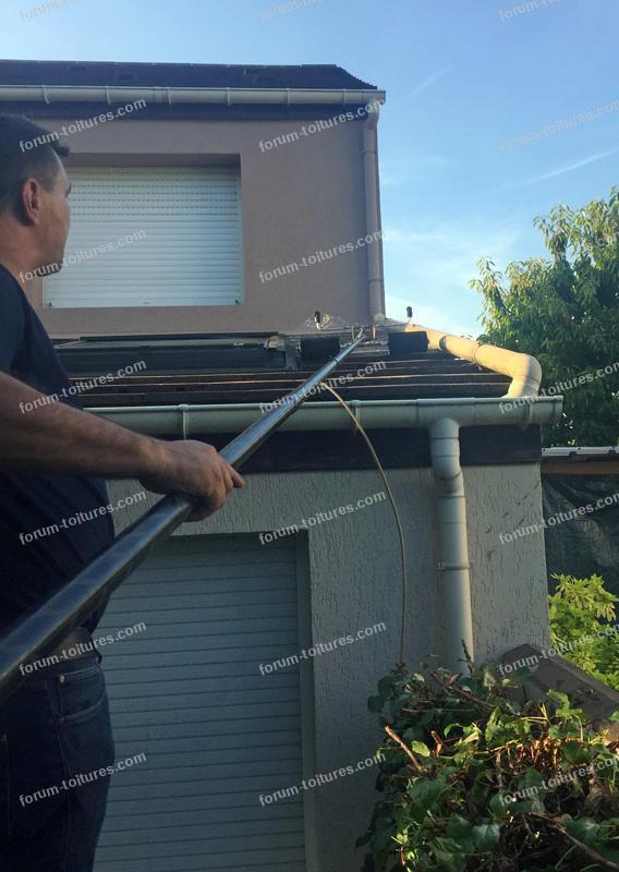 nettoyage toiture maison