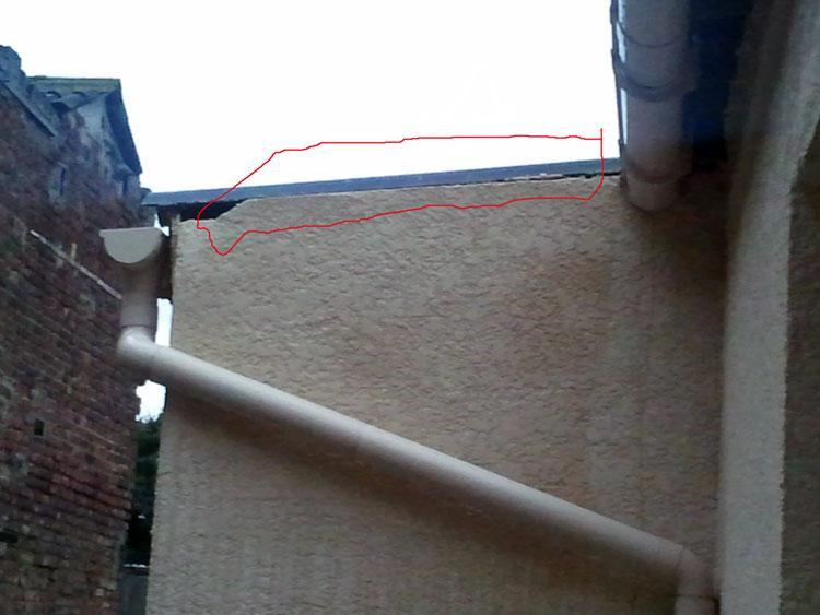 installer protection mur pluie toiture r parer fuite toiture conseils. Black Bedroom Furniture Sets. Home Design Ideas