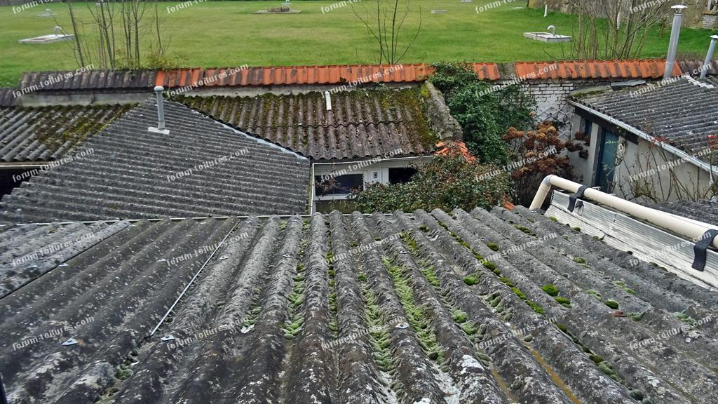 questions travaux toiture d pose toit en fibrociment et remplacement par toit terrasse. Black Bedroom Furniture Sets. Home Design Ideas