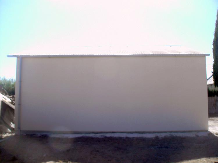 conseils pour vos travaux de toiture repeindre environ 60 m de toiture hangar en t le galvanis e. Black Bedroom Furniture Sets. Home Design Ideas
